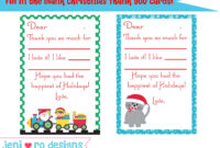 Christmas Thank You Poems To Students – Google Search for Christmas Thank You Card Templates Free