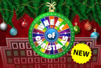 Christmas Wheel Of Fortune Powerpoint Game – Youth within Wheel Of Fortune Powerpoint Template