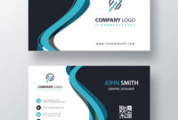 Classic Company Visiting Card Template | Free Customize For Buisness Card Template