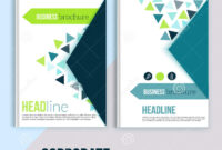 Clean Brochure Design, Annual Report, Cover Template with Cleaning Brochure Templates Free
