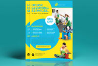Cleaning Flyer Templateeliyas Ali On Dribbble inside Commercial Cleaning Brochure Templates