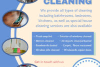 Cleaning Service Advertisement Template | Cleaning Service with Commercial Cleaning Brochure Templates
