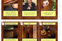 Clue Cards with regard to Clue Card Template