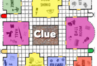 Clue Game Board Printable | Clue Board Game, Clue Games pertaining to Clue Card Template