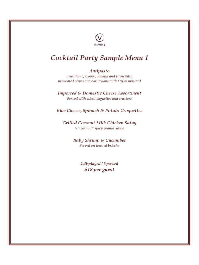 Cocktail Menu Template - 2 Free Templates In Pdf, Word Intended For Cocktail Menu Template Word Free