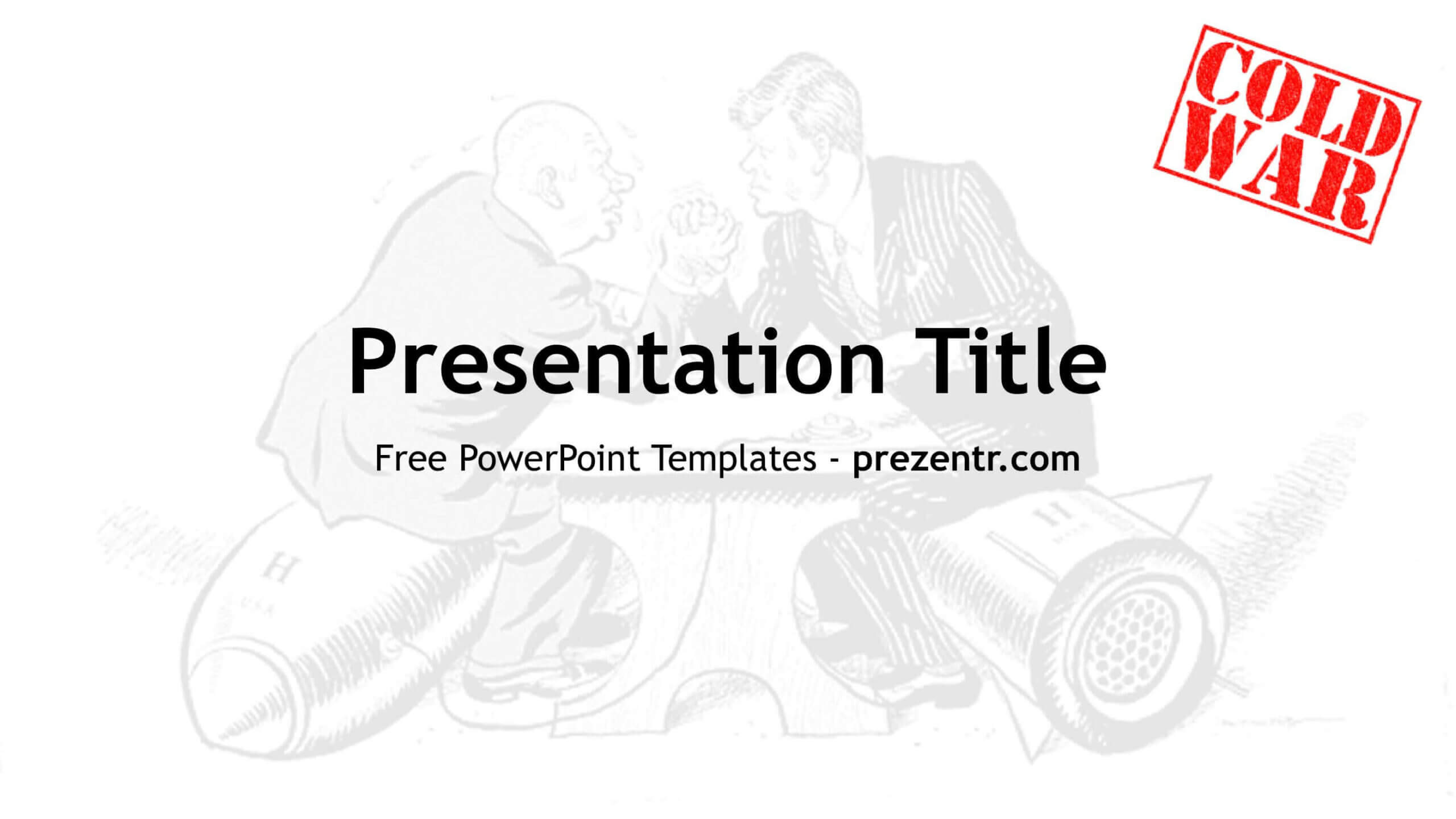 Cold War Powerpoint Template - Prezentr For Powerpoint Templates War