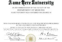 College Diploma Template Pdf   College Diploma, Certificate for Doctorate Certificate Template