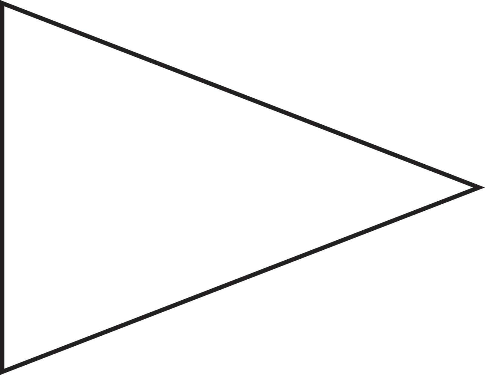 College Pennant Template Free – Invitation Templates With Printable Pennant Banner Template Free