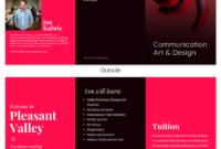 College Tri Fold Brochure throughout Adobe Indesign Tri Fold Brochure Template