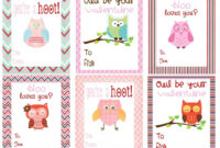 Color Pages ~ Color Pages Free Owl Printables Printable for Valentine Card Template For Kids