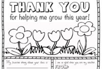 Coloring Book : Thank You Coloring Card Beautiful Printable pertaining to Thank You Card For Teacher Template