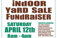 Come Find Your Treasure @ North Shelby Library's Indoor Yard inside Yard Sale Flyer Template Word