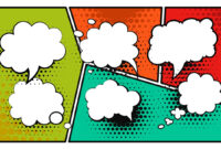 Comic Book Speech Placeholders Ppt – Slidemodel regarding Comic Powerpoint Template