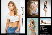 Comp Cards For Modeling – Zimer.bwong.co intended for Model Comp Card Template Free