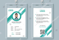 Company Identity Card Design Template Identity#company#card with Company Id Card Design Template