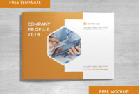 Company Profile Free Template And Mockup Download On Behance for Free Brochure Template Downloads