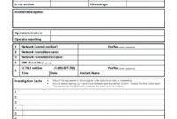 Complaint Investigation Deviation Tion Report Example Pdf with Deviation Report Template