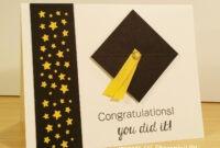 Confetti Stars Graduation Congratulations   Graduation Cards intended for Graduation Pop Up Card Template
