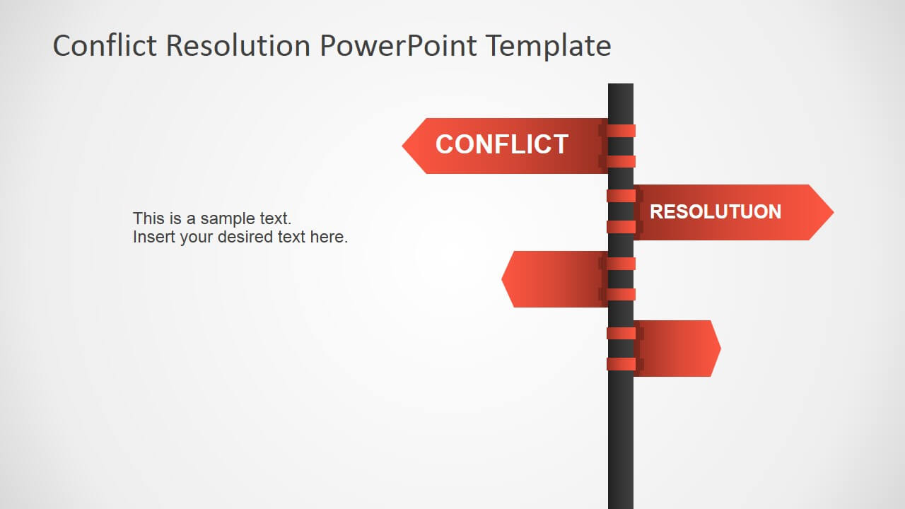 Conflict Resolution Powerpoint Template Pertaining To Powerpoint Template Resolution