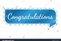 Congratulations Banner Template Design Vector Illustration for Congratulations Banner Template