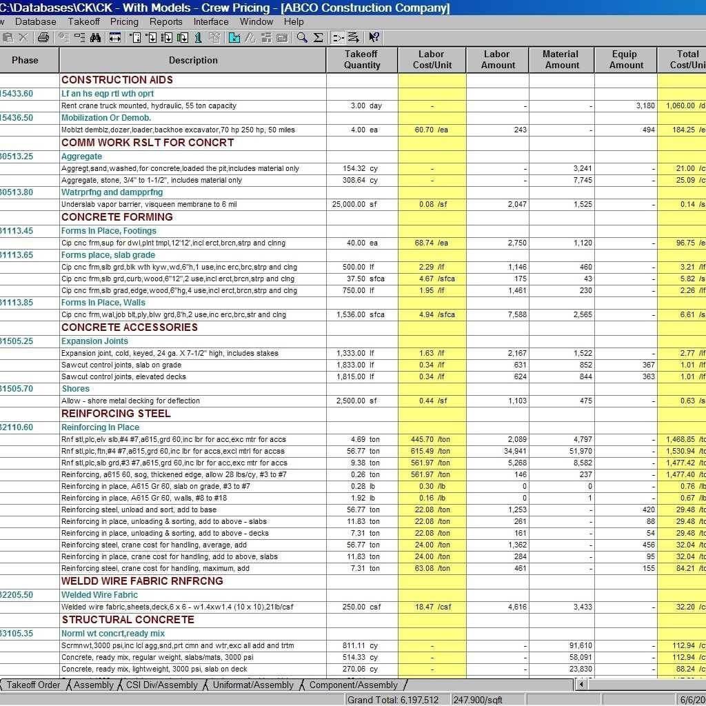 Construction Budget Eet Excel Cost Estimating Examples Free Regarding Job Cost Report Template Excel