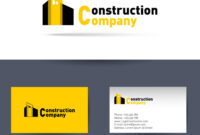 Construction Company Business Card Template throughout Construction Business Card Templates Download Free