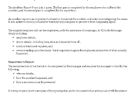 Construction Job Site Incident Report Form | Templates At pertaining to Investigation Report Template Doc