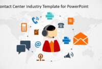 Contact Center Industry Powerpoint Template with regard to Powerpoint Templates For Communication Presentation
