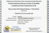 Continuing Education Beautiful Continuing Education within Ceu Certificate Template