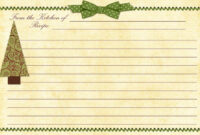 Cookie Exchange Recipe Card | Printable Recipe Cards pertaining to Cookie Exchange Recipe Card Template