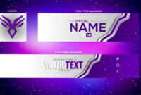 Cool Yt Banner Templates | Youtube Banner Template, Youtube for Twitter Banner Template Psd