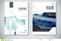 Corporate Annual Report Template Design. Corporate Business For Illustrator Report Templates