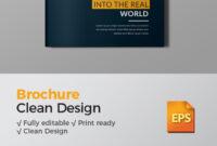 Corporate Bi-Fold Brochure Bi Fold Brochure Psd Free for Half Page Brochure Template