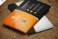 Corporate Business Card Bundle Free Psd | Psdfreebies throughout Psd Visiting Card Templates