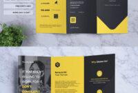 Corporate Business Tri-Fold Brochure Template Psd, Ai, Eps inside Brochure 3 Fold Template Psd