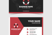 Corporate Double-Sided Business Card Template with regard to 2 Sided Business Card Template Word