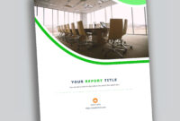 Corporate Report Design Template In Microsoft Word – Used To pertaining to It Report Template For Word