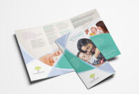 Counselling Service Tri-Fold Brochure Template In Psd, Ai pertaining to Tri Fold Brochure Template Illustrator