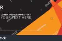 Cover Design Template Leaflet Advertising Vinyl Stock Vector regarding Vinyl Banner Design Templates