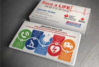 Cpr Customizable Business Cards Instructor Card Plans Plan A intended for Push Card Template