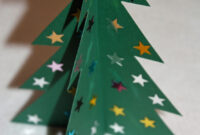 Craft And Activities For All Ages!: Make A 3D Card Christmas inside 3D Christmas Tree Card Template