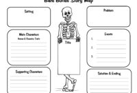 Crafty Symmetric Skeletons | Scholastic Inside Skeleton Book Report Template