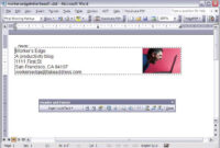 Create A Letterhead Template In Microsoft Word – Cnet with regard to Header Templates For Word