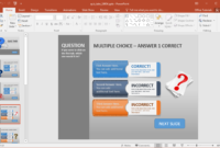 Create A Quiz In Powerpoint With Quiz Tabs Powerpoint Template for Quiz Show Template Powerpoint
