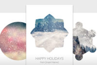 Create A Unique Holiday Card With An Adobe Stock Template for Adobe Illustrator Christmas Card Template