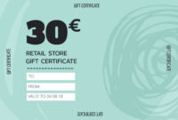 Create Personalized Gift Certificate Templates & Vouchers within Company Gift Certificate Template