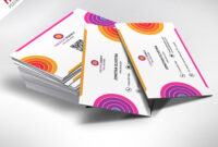 Creative And Colorful Business Card Free Psd | Psdfreebies within Creative Business Card Templates Psd