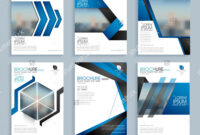 Creative Business Brochure Set, Corporate Template Layout inside Professional Brochure Design Templates
