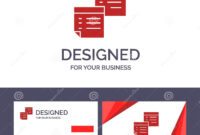 Creative Business Card And Logo Template Sticky, Files, Note pertaining to Pages Business Card Template