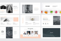 Creative Minimal Presentation – Powerpoint Template #74262 regarding Keynote Brochure Template